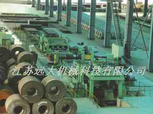 Slitting(edge-cutting),Recoiling,Leveling,Cut-to-length series Line